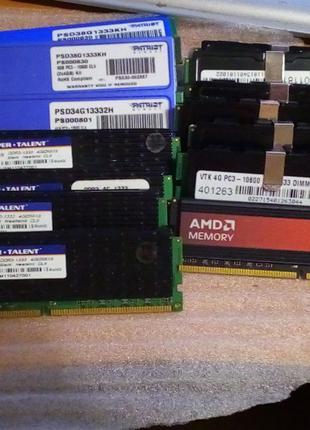 4Gb PC3 10600 1333MHz DDR3 Компьютерная оверклокерская память