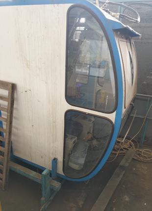 Кабина машиниста китайского башенного крана QTZ 250