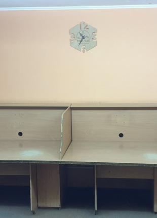 Стол компьютерный на 4-ре рабочих места