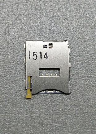 Коннектор SIM Sony Z3 Compact D5803/Z5c E5823/Tablet Z3 1278-7930
