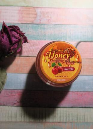 Ночная медовая маска ацерола, 90мл holika holika honey sleepin...