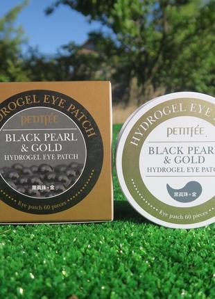 Гидрогелевые патчи petitfee black pearl & gold hydrogel eye patch
