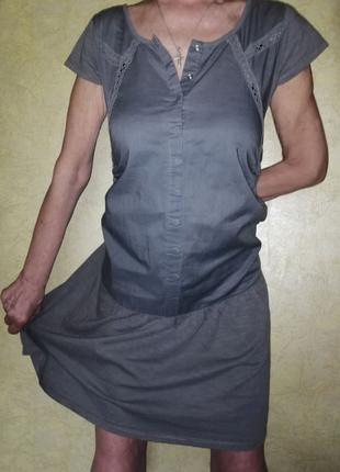 Легкое платье для будущих мам.