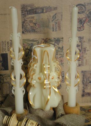 Свечи декоративные, ручной работы.