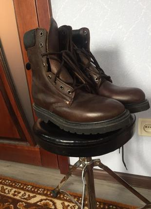 Ботинки мужские кожаные
