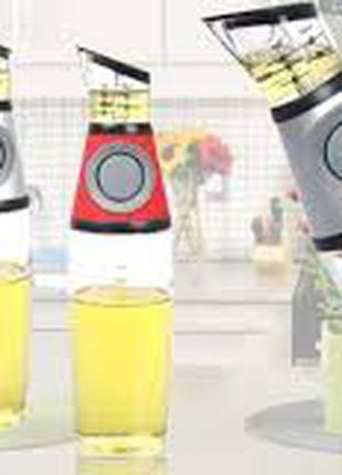 Дозатор для масла и уксуса Press & Measure/емкость с дозатором