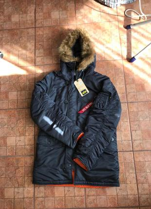 Куртка Alpha industries n3-b n3b парка