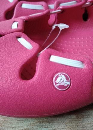 Новые балетки Crocs, размер 42