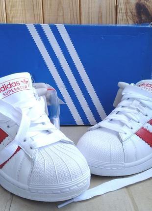 Стильные кожаные удобные белые кеды кроссовки adidas adidas su...