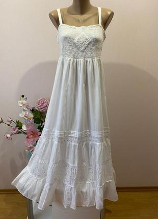 Длинное платье / летнее платье в пол