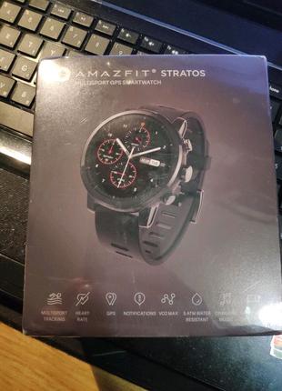 Amazfift stratos 2 смарт часы