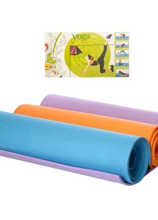 Йогомат .коврик для йоги , коврик для фитнеса