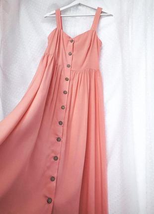 Платье сарафан на пуговках