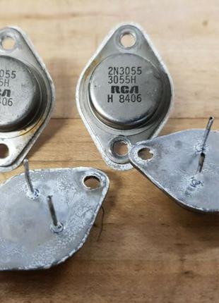 Транзистор 2N3055 RCA оригинал радиодетали