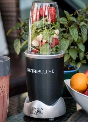 Фитнес-блендер NutriBullet Original 600 Вт кухонный измельчитель