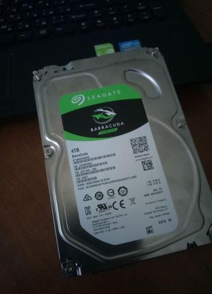 Жесткий диск Seagate BarraCuda HDD 4TB 7200rpm