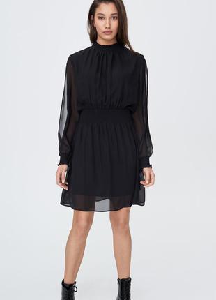 Платье с красивыми рукавами sinsay sinsay