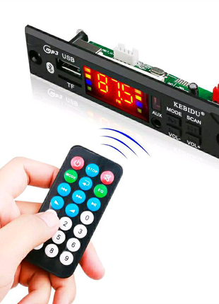 Встраиваемый MP3 плеер с bluetooth и FM радио. USB, MP3, Bluetoot