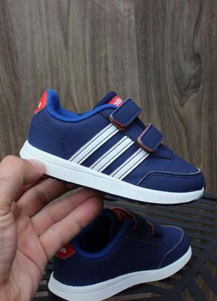 Кроссовки на липучках adidas neo 24 размер оригинал кросівки а...