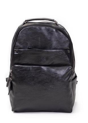 Мужской  кожаный рюкзак портфель