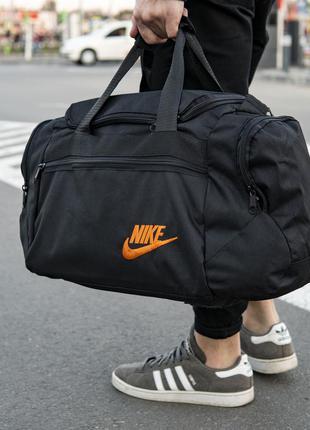 Мужская спортивная сумка  orange