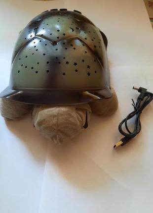 Музыкальный ночник-проектор черепаха софи