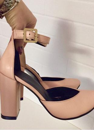 Mante! Красивые женские пудра кожа босоножки туфли каблук 10 см в