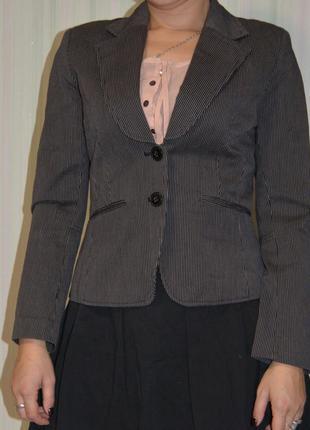Пиджак, пиджак в полосочку h&m, жакет