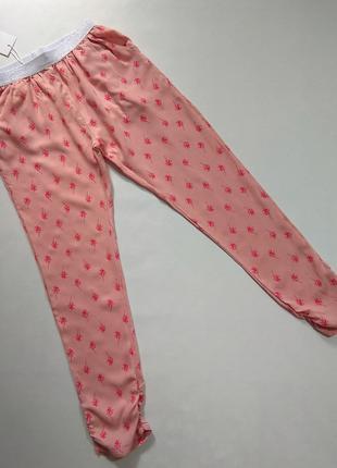 Персиковые легкие штаны Lulu Castagnette р. 8 лет