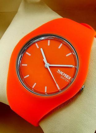 Водонепроницаемые спортивные часы skmei watch 9068 силикон, цв...