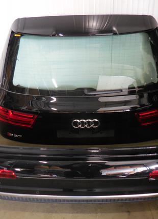 Крышка багажника, задний бампер, фонари и кузовщина Audi Q7 4L 06