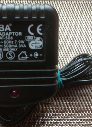 Блок питания ATABA AT-506 (220V/6Vх500мА)
