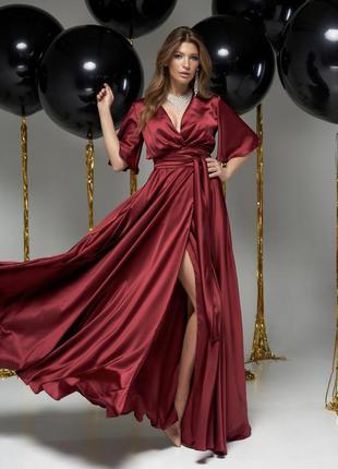 725.   вечернее платье из шелка