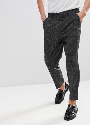 Стильные укороченные брюки asos