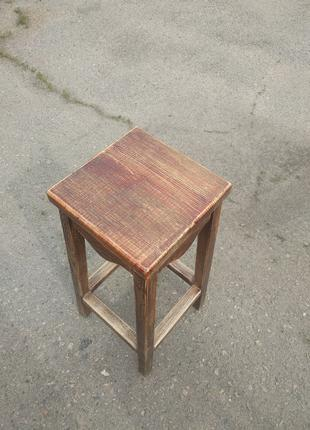Барні стільці з натурального дерева - дуб