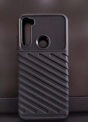 Противоударная накладка Xiaomi Redmi Note 8T Black