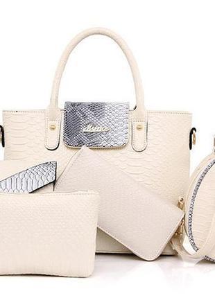 Женская сумка набор 6 в 1 (залишок 5 шт по ціні 650 гр) в наличии