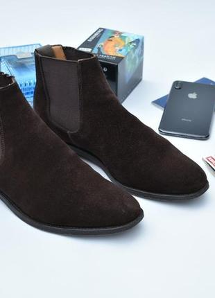 Alfred sargent оригинал!! мужские замшевые туфли челси размер ...