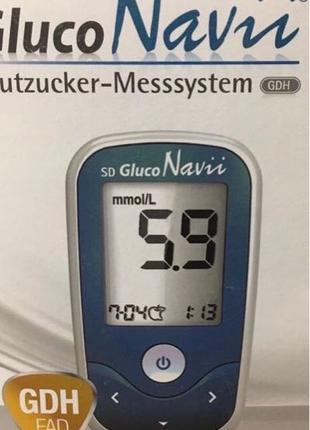 Глюкометр Gluco Navii