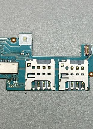 🔥Плата SIM карт и SD для Sony Xperia C C2305. Оригинал!