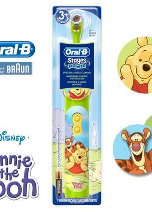 Детская электрическая зубная щетка Дисней Disney Winnie the Pooh