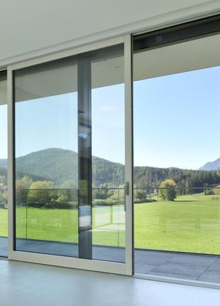 Раздвижные окна, панорамные окна, Раздвижные панорамные двери.