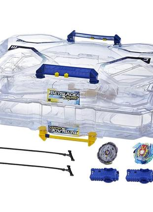 Арена с блейдами. Beyblade Switchstrike Battle Tower Action Figur
