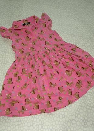 Платье собачки 1-2 года