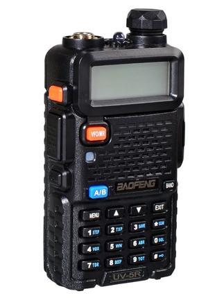 Рация Baofeng UV-5R 8 W +гарнитура,(рація передатчик 8 ватт, FM р