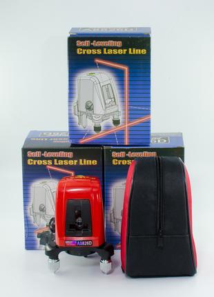 Лазерный уровень нивелир A8826D ( рівень AK 435 ) + Чехол+ батаре
