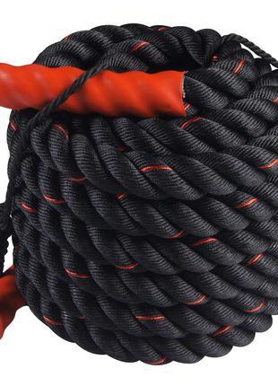 Канат для кроссфита SportVida Battle Rope 15 м SV-HK0173 SKL41-16