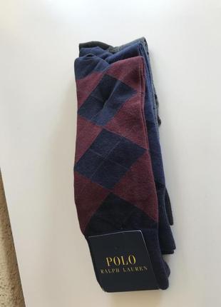 Носки мужские стильные модные дорогой бренд ralph lauren разме...