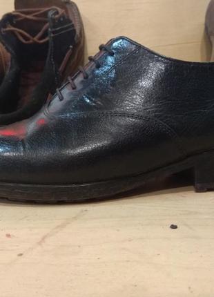 Туфли кожаные ручная работа