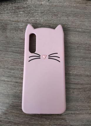 Чехол для Xiaomi mi 9 с ушками котика